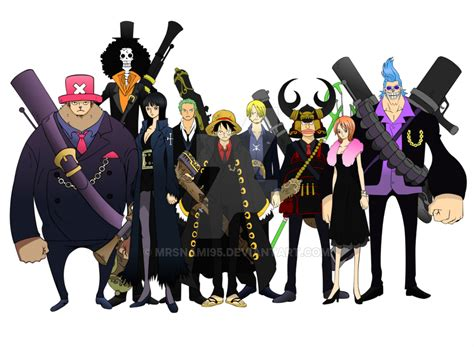 One Piece Strong World -colored- By Mrsnami95 On Deviantart
