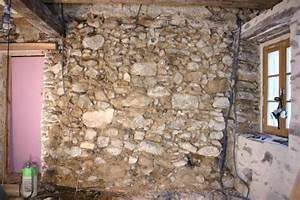 Comment Isoler Un Mur En Pierre Humide : r aliser un enduit traditionnel la chaux en 3 couches en ~ Premium-room.com Idées de Décoration