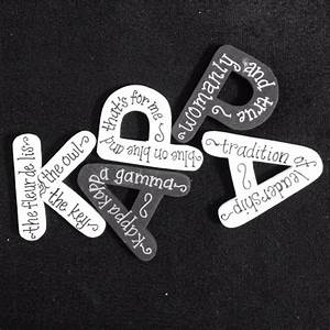 167 best images about greek letters on pinterest chi With kappa kappa gamma wooden letters