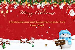 It 39 S Snowing Make Merry Christmas Card With Name Wishes