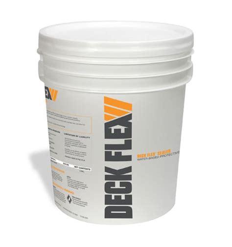 deck flex  purpose protective penetrating clear sealer