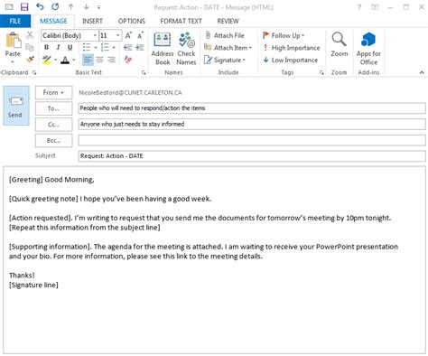 writing effective emails convey your information quickly