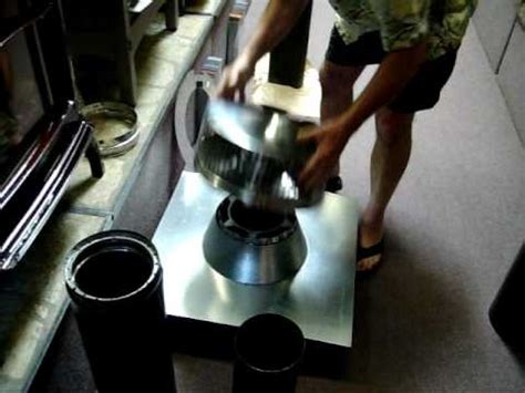 wood stove chimney installation basics video review