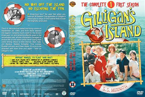 Gilligans Island Season 1 Dvd Cover And Labels 1965 R1