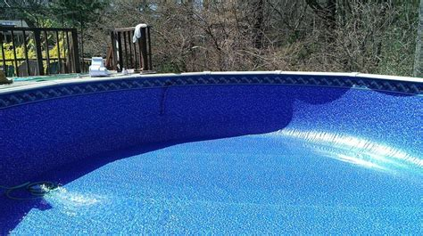 Above Ground Pool Floor Mats by Ventura Tile Beaded Liner With Sundance Floor Above