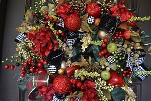 Beautiful, Christmas, Wreath
