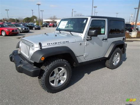 jeep metallic 2012 bright silver metallic jeep wrangler rubicon 4x4