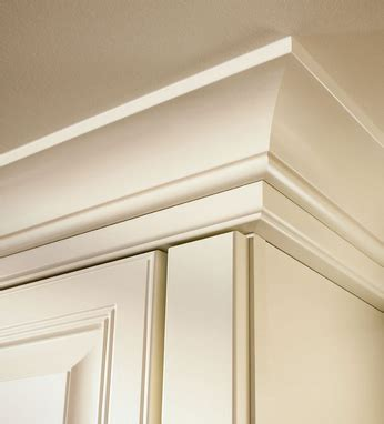 installing crown moulding on kitchen cabinets large cove molding with starter molding in dove white 8993