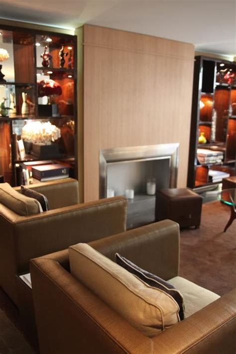 deco cuisine appartement décoration salon orange et marron