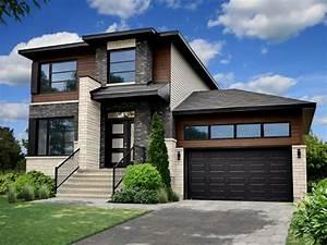 Couleur de facade de maison moderne perfect dco with for Couleur facade maison contemporaine 9 maison moderne grise