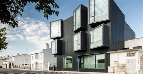 architectural design detail protruding windows add extra interior space   care home