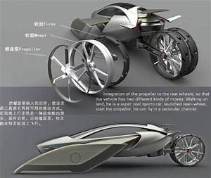 Traffic Stopper? Concept Car Converts From Road to Air ...
