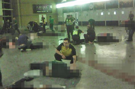 Manchester Terror Attack Graphic