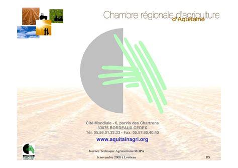 chambre d agriculture 01 chambre régionale d agriculture d aquitaine et de la