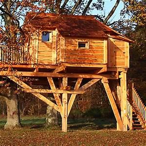 Constructeur Cabane Dans Les Arbres : dormir dans les arbres ~ Dallasstarsshop.com Idées de Décoration