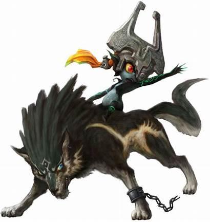 Wolf Zelda Link Princess Wikia Twilight Midna