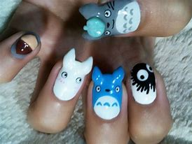 Image result for totoro manicure