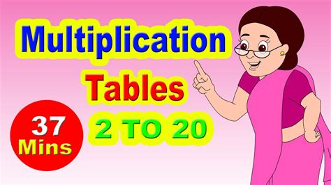Maths Tables 11 To 20