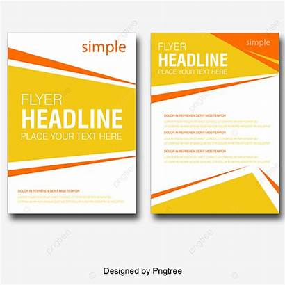 Flyer Single Material Template Psd Exquisite Transparent