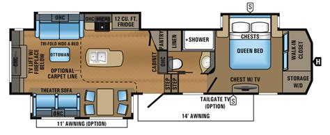 Jayco Fifth Wheel Floor Plans 2018 by 2018 Jayco Point Fifth Wheel Travel Trailers Rv Centre