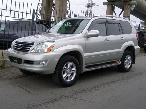 2004 Lexus Gx470 Pictures, 4.7l., Gasoline, Automatic For Sale