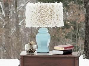 Lampen Selber Machen : kreative lampen selber machen stoffresten lampenschirm ~ Michelbontemps.com Haus und Dekorationen