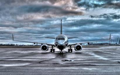 Boeing 737 Airport Wallpapers Plane Background Night