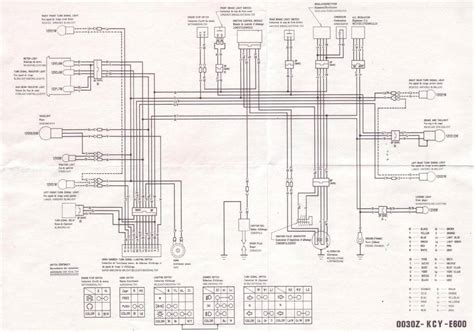 Wiring Diagram With Schematic For A 1998 400 4x4 Arctic Cat Atv by 99 Xr400r Enduro Wiring Updates Page 2 Xr250r
