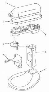 KitchenAid KG25H0X Parts List And Diagram Series 4