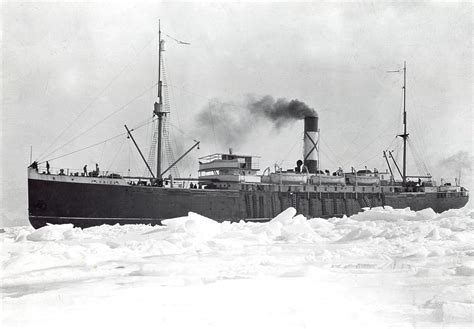Ss. Florizel At The Ice Fields
