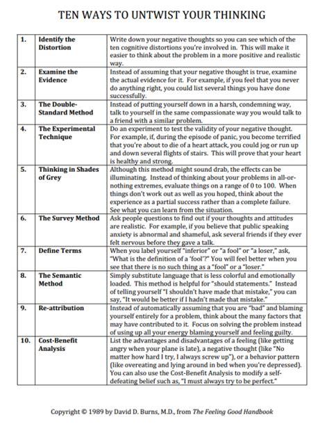 all worksheets 187 cbt cognitive distortions worksheets