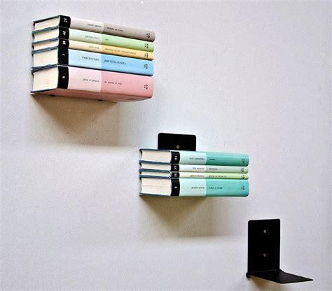 Mensola Invisibile Biblioteca Quot Discreto Scaffale Scaffale Libri Invisibile