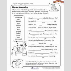 'moving Mountains'  Free English Worksheet For Kids  Rocking 5th Grade  English Worksheets