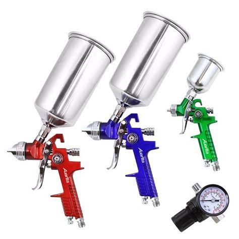 3pcs Hvlp Air Spray Gun Kit Car Auto Gravity Feed Paint