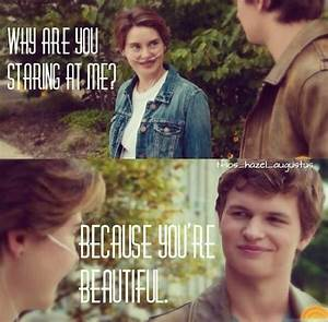 Hazel & Augustus images Hazel and Gus wallpaper and ...