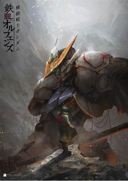 Gundam Barbatos Iron Blooded Orphans Suit Mobile