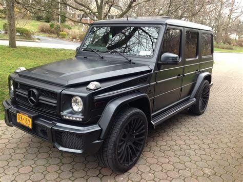 Obsidian black metallic with designo black leather and black piano lacquer hardwood, fully equipped according to std spec on the g63 amg version, other extra equipment; Matte black Mercedes G63 AMG | BillionairesAttitude ...