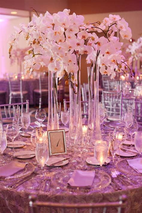 Tall White Orchid Centerpiece Centerpieces