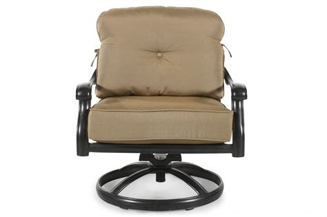 world source st louis club swivel chair with cushion
