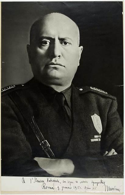 Mussolini Benito Portrait Notrehistoire