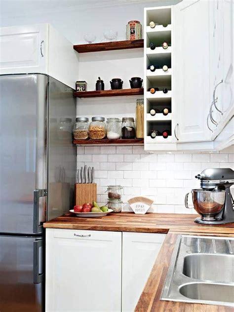 bright ideas  incorporating open shelves  kitchen