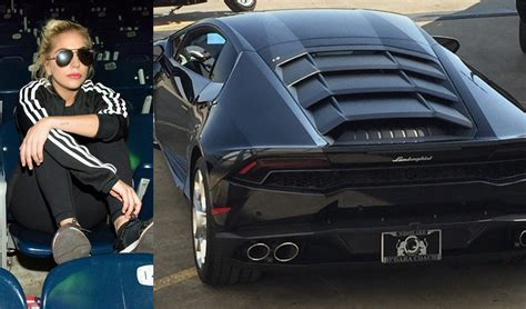 lady gagas lamborghini huracan  houston