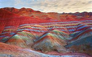 Where In the World Are These Incredible 'Rainbow Mountains'?
