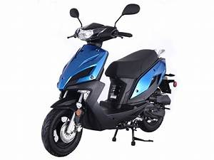 New Speed 50 - 49cc Scooter - Moped