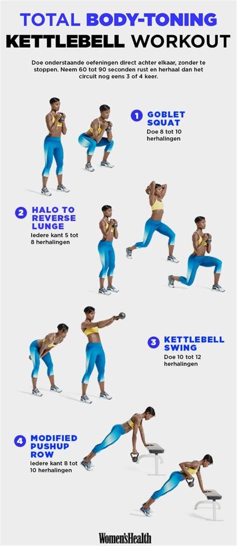 kettlebell workout body total oefeningen workouts training toning fitness met circuit een doen health bell kettlebells challenge magazine womenshealthmag thuis
