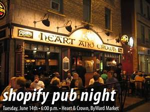 Shopify Pub Night: Tuesday, June 14th! - The Adventures of ...