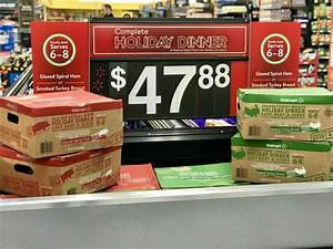 Walmart Introduces Thanksgiving Meal Kits
