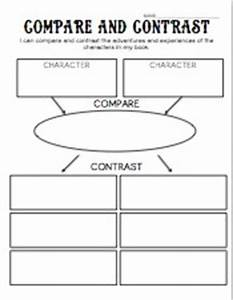 Compare and Contrast Characters Organizer | Classroom ...