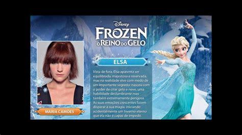 meet  portuguese cast  disneys frozen youtube