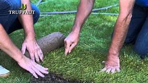 Gazon En Rouleau Truffaut : comment poser du gazon naturel en rouleau jardinerie ~ Melissatoandfro.com Idées de Décoration